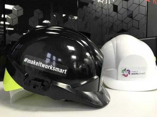 construction company helmet health and safety