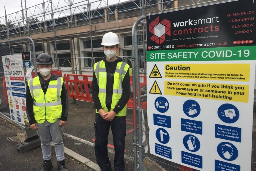 work experience in construction industry scotland worksmart contracts