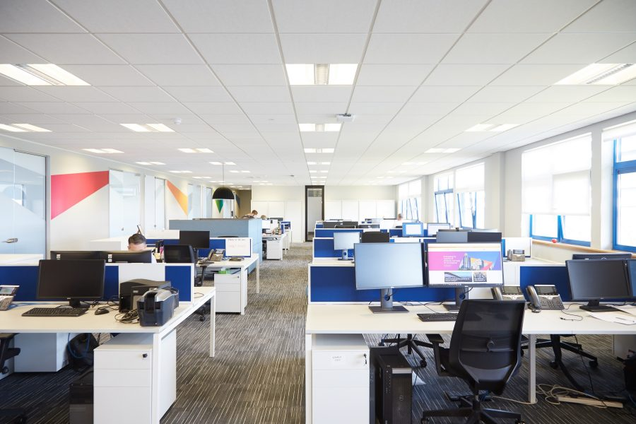 Office Space after refurbishment