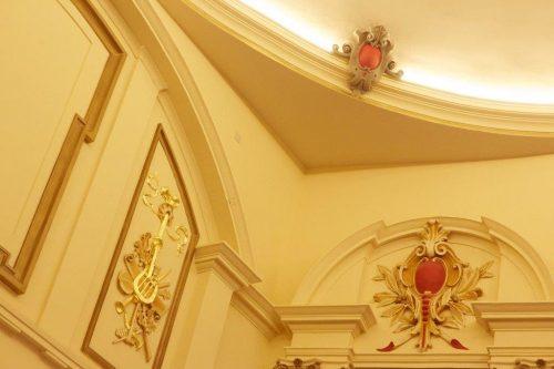 Ayr Gaiety Theatre detailing interior