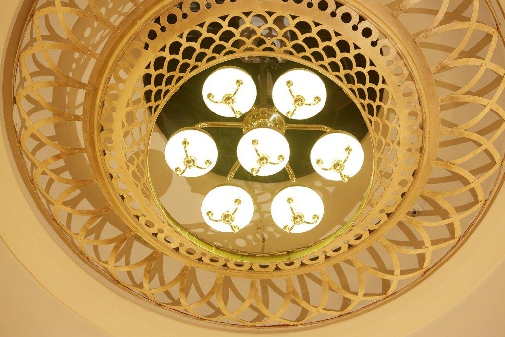 Ayr Gaiety Theatre chandelier